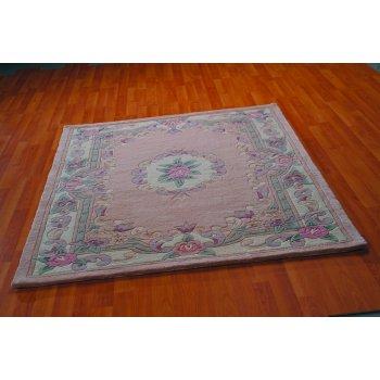 Rugs With Flair Lotus Premium Oriental Rug Fawn