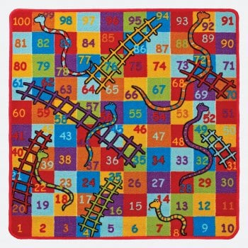 Oriental Weavers Snakes and Ladders Play Mat