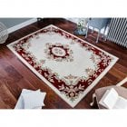 Royal Rug Cream Red