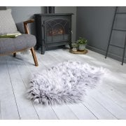 Anja Faux Fur Helsinki Rugs Brown